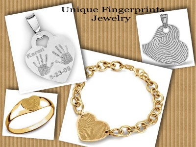Unique Fingerprins Jewelry