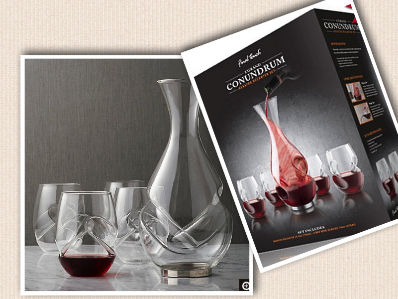 Unique Wine Gift Ideas Decanter Set