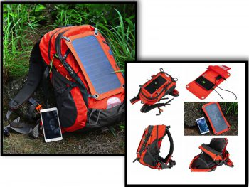 Gifts For an Adventurer Solar Backpack