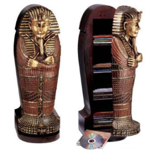 Egyptian Home-Decor Sacrophagus CDCabinet