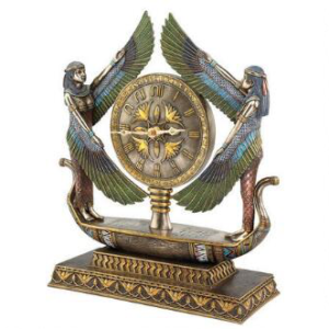 Egyptian Home Decor Sculptural Clock