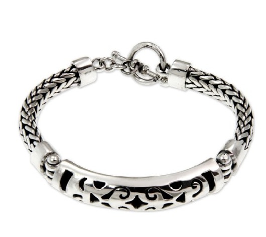 Unique Silver Bracelet Perfect Present