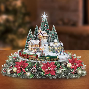 unique Christmas gift ideas animated centerpiece