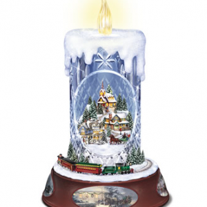 unique Christmas gift ideas crystal candle