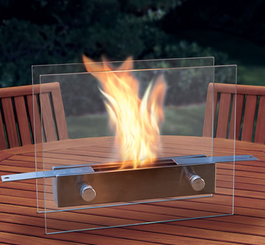 unique Christmas gift ideas tabletop fireplace