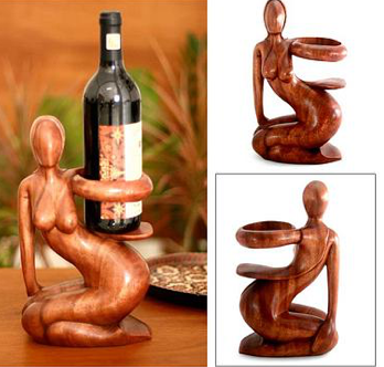 unique-christmas_gift_ideas_wood_bottle_holder