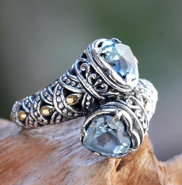 Perfect-Romantic-Gifts-Two-Hearts-Ring