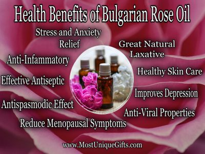 Bulgarian Rose Oil Benefits